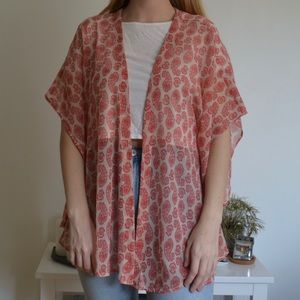 BP Nordstrom Paisley Kimono